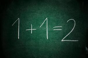 wiskunde les foto