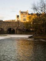 Bath Engeland waterweg foto