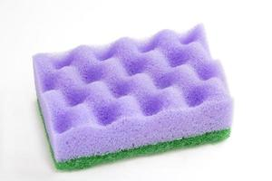 spons voor reiniging. foto