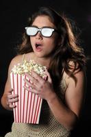 3D-film vrouw foto
