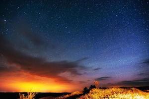 sterrenhemel foto