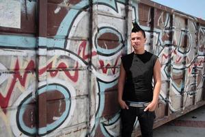 Punk jongen foto