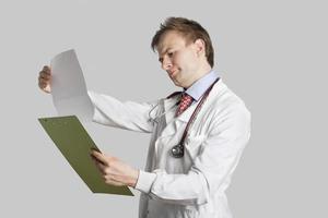 gelukkige dokter foto