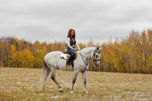 paardrijden foto