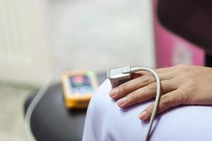 medische apparatuur en zuurstof foto