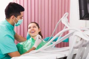 patiënt op operatie kantoor foto