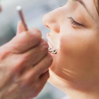 tandartsonderzoek foto