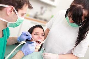 tandheelkundige zorg foto