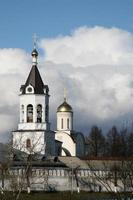 bogoroditse-rozhdestvensky mannelijk klooster, vladimir, rusland foto