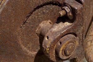 oude motor foto