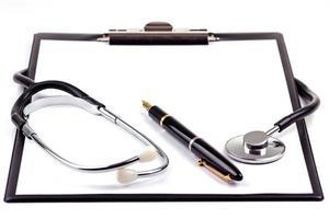 medische aantekeningen foto