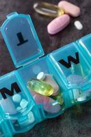dagelijkse medicatie foto
