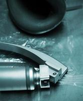 laryngoscoop. medisch object. foto