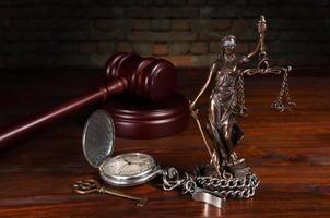Vrouwe Justitia foto