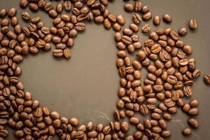 koffie op donkere achtergrond grunge foto