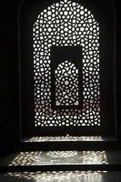 venster lichtpatroon