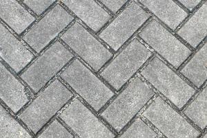 bakstenen vloer patroon - achtergrondstructuur foto