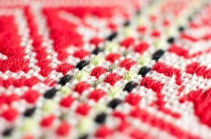 tafelkleedpatroon, Kroatisch etnisch ornament foto