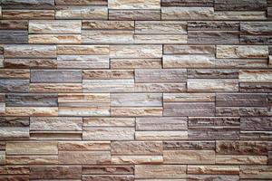 patroon van decoratieve leisteen stenen muur oppervlak foto