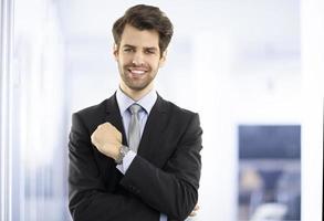 uitvoerende zakenman foto