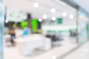 winkel, winkelcentrum kantoor abstract intreepupil onscherpe achtergrond foto