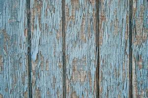 blauwe getextureerde en abstracte houtverf verweerde natuurlijke patroon foto