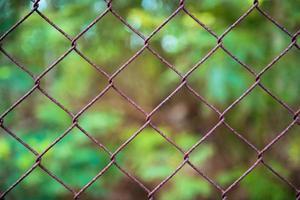 close-up patroon prikkeldraad foto