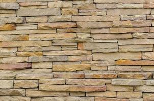 patroon van moderne bakstenen muur opgedoken foto