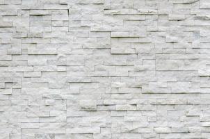 modern patroon van echte stenen muur foto
