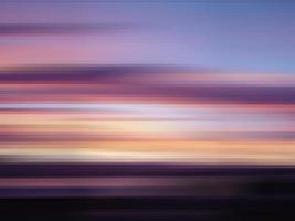 zonsondergang met blokpatroon overlay foto