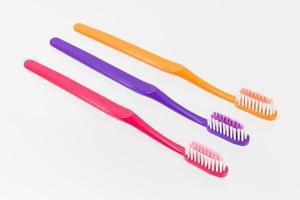 klassieke tandenborstel foto