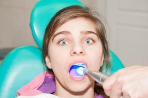 tandarts patiënt foto