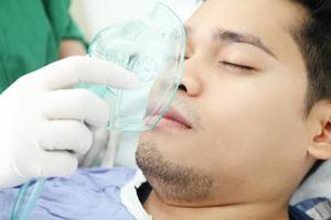 zuurstofbehandeling foto