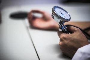 bloeddrukmeter foto