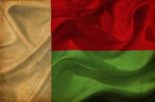 Madagaskar wuivende vlag foto