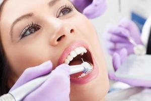 tandheelkundige procedure foto