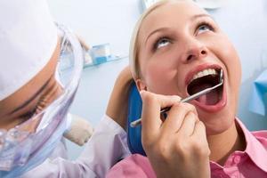 tandheelkundige controle foto