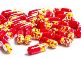 geneeskunde capsule. foto