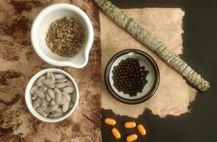 kruidenmedicijn foto