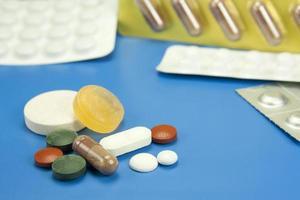 pillen en medicijnen foto