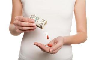 betaald medicijn. foto