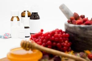 alternatieve en traditionele geneeskunde foto