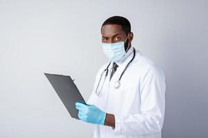 concept voor Afro-Amerikaanse arts foto