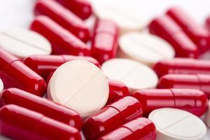 verschillende pillen foto