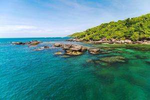 jungle eiland zee foto