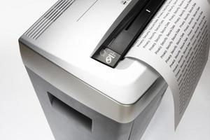papierversnipperaar foto