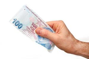 Turkse valuta foto