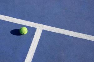 speel tennis foto