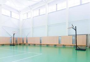 indoor tennisbaan foto