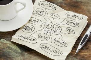 we hebben meer liefde en dromen nodig foto